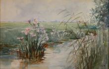 Charles H. Woodbury watercolor