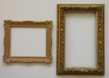 2 Ornate frames