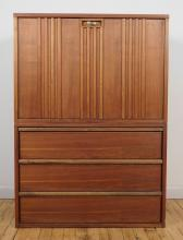 Mid Century Modern two-part cabinet
