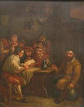 19th c. European School oil