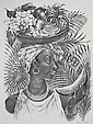 Agnes Tait 'Delphina' lithograph, 1940, signed in pencil, AAA edition of 162. 13.75 x 10in, Agnes Tait, Click for value