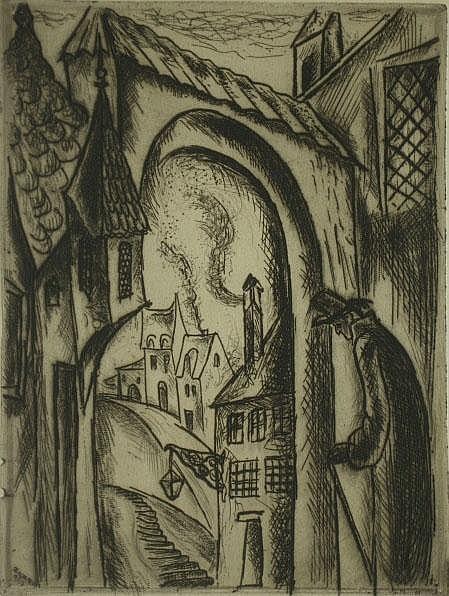 Zilzer, Gyula (American 1898-1969) Paris-