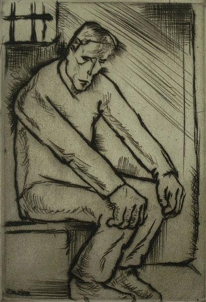 Zilzer, Gyula (American 1898-1969) Prisoner,