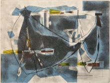 Sigismond Kolos-Vary etching