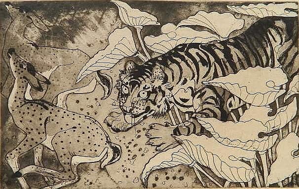 Orovida Pissarro etching