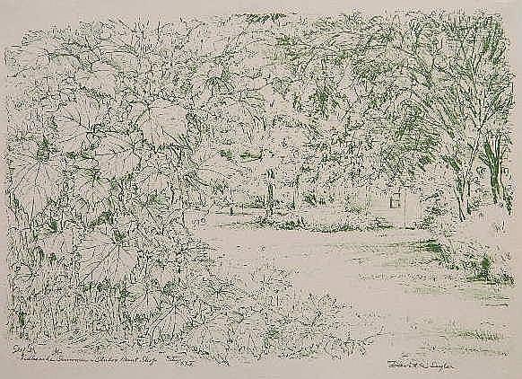 David Seyler lithograph