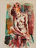 David Fredenthal watercolor, David Fredenthal, Click for value