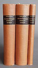 A. von Wurzbach- Niederlandisches Kunstler-Lexicon