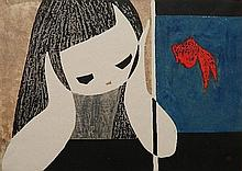 Kaoru Kawano woodcut
