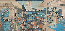Kunisada Utagawa woodblock