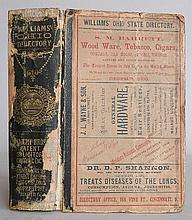 William's Ohio State Dicrectory & Shippers Guide