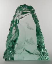 Paul Hoff- Kosta Art Glass sculpture
