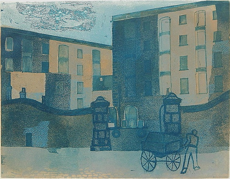Helena Markson etching