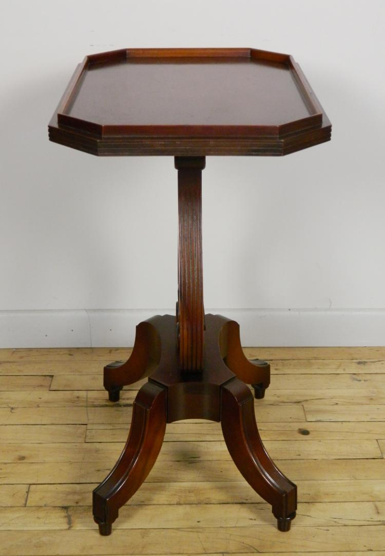 Mahogany harp lyre base accent table : H2201 L117830338 from www.invaluable.com size 750 x 1082 jpeg 59kB