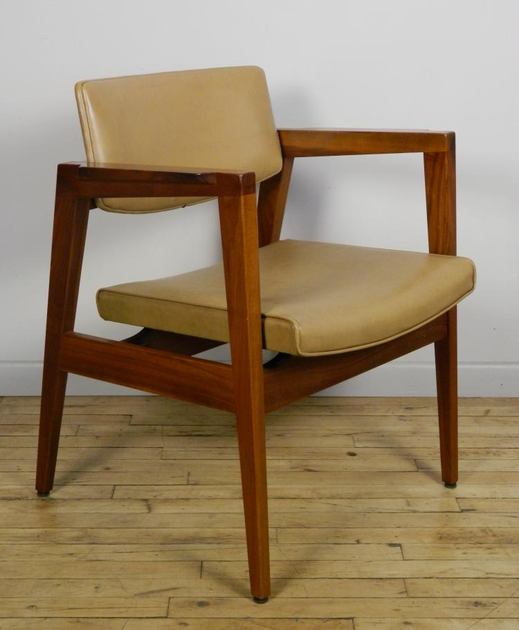 Set Of 3 Mid Century Office Chairs