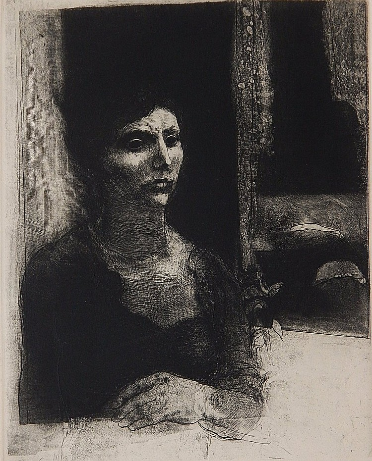 David Bumbeck etching