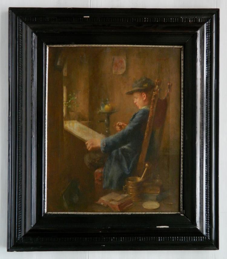Anton Laupheimer oil