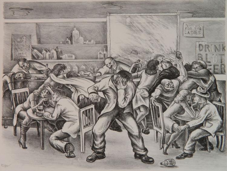 Dick Swift lithograph