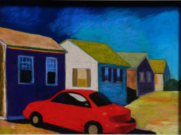 Bonnie Dolin chalk pastel