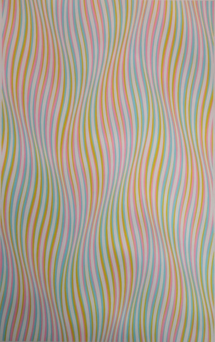 Bridget Riley silkscreen