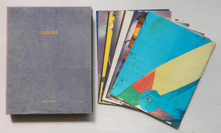 Lesley Schiff 24 color xerography prints