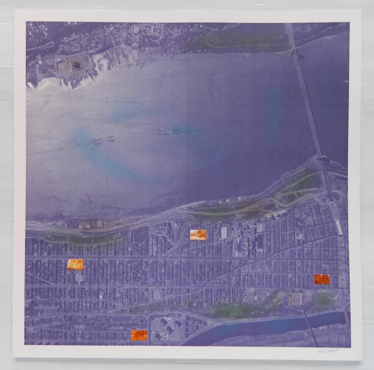 Alan Sonfist 12 lithographs