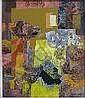William C. Grauer- ''Yellow Rectangle''- oil on, William C. Grauer, Click for value