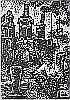 Isaac Sanger- The Boats- wood engraving, ca. 1932,
