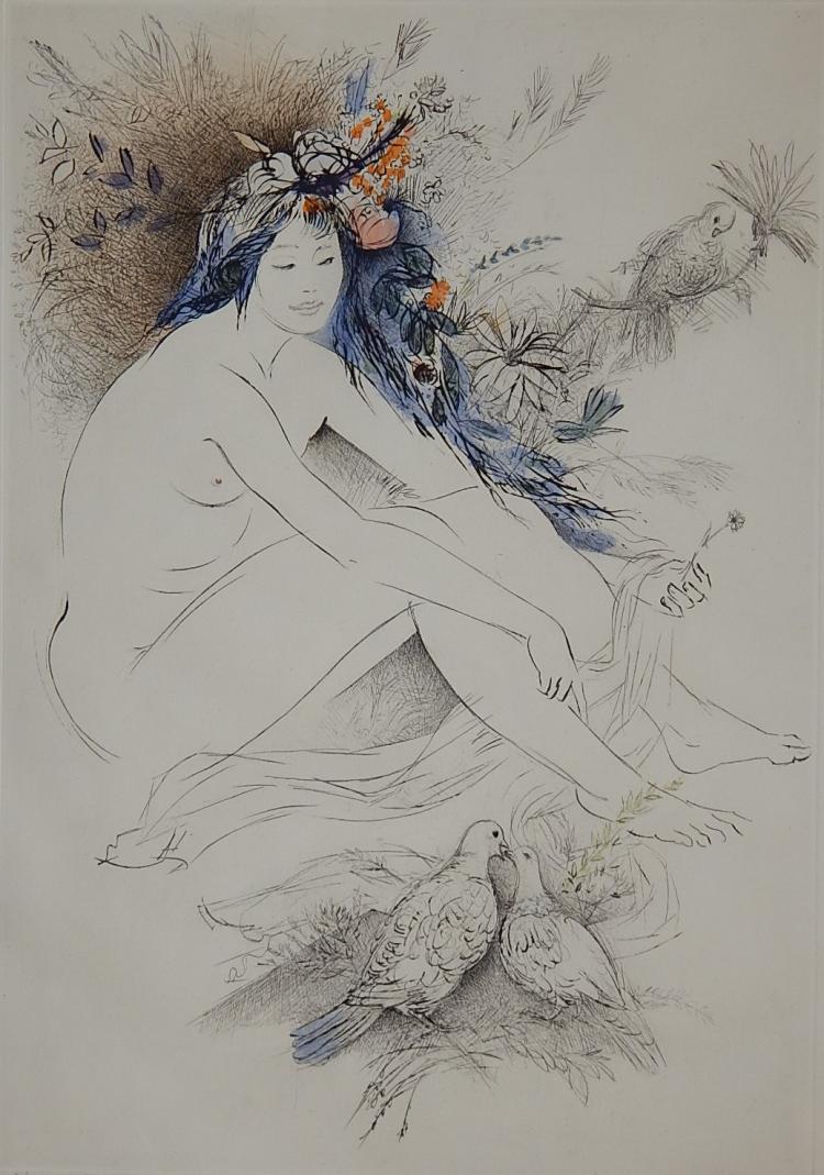 Amandine Dore lithograph
