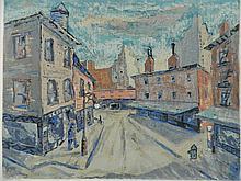 Harry Shoulberg silkscreen