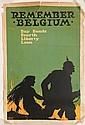 WWI Poster - ''Remember Belgium''