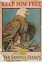 WWI Poster - ''Keep Him Free''