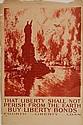 WWI Poster - ''That Liberty Shall Not Perish''