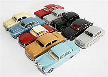 TEN DINKY TOYS MODEL CARS, INCLUDING 'MERCEDES-BENZ 220SE' AND 'FORD CORSAIR' (10).