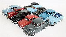 TEN VARIOUS MODEL CARS, INCLUDING QUIRALU, TEKNO AND KENNA. (10)