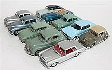 TEN VARIOUS MODEL CARS, INCLUDING LANSDOWNE, MERCURY AND LONE STAR (10).