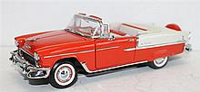A FRANKLIN MINT '1955 CHEVROLET BEL AIR'.