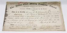 ALBUM COMPRISING AN INTERESTING COLLECTION OF AUSTRALIAN EPHEMERA FROM 1884 TO 1989, including Invitations, Shares, Railway Tickets,...