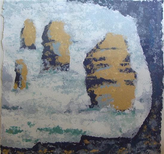 Ruth Faerber (b.1922) The Apostles, Port Campbell