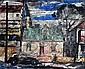 Herbert Kemble (1894-) Old Houses, Edgecliff