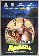 Madagascar Movie Poster - Stiller, Rock, Schwimmer, Pickett