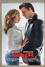Gigli Movie Poster - Affleck, Lopez