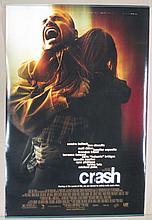 Crash Movie Poster - Cheadle, Bullock
