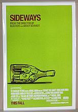 Sideways Movie Poster - Giamatti, Haden Church, Madsen