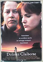 Dolores Claiborne Movie Poster -  Bates, Jason Leigh,  Plummer