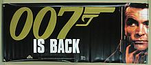 Movie Poster - Promotional Banner - Sean Connery