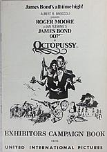 Movie Poster - Octopussy Exhibitors Campaign Book - Roger Moore