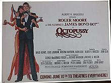 Movie Poster - Octopussy - Roger Moore
