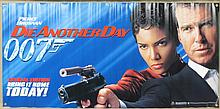 Movie Poster - Die Another Day Horiz Promotional Banner - Pierce Bronson