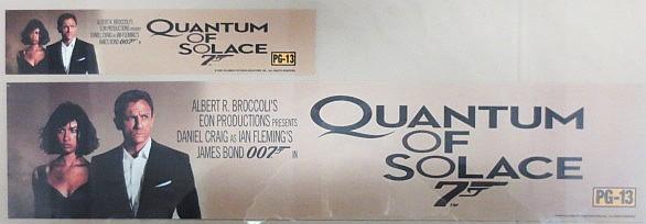 Movie Poster - Quantum of Solace - Daniel Craig